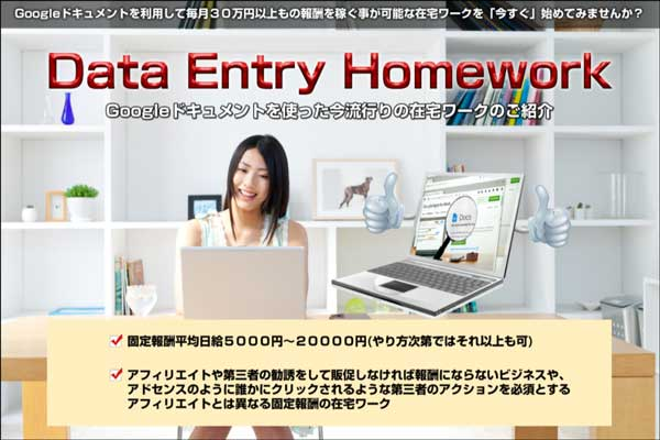 長谷川康弘 Data Entry Homework(DEH)